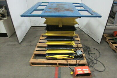 American Scissor Lift M1000-b Hydraulic Table 45x44 Top 7-36 Lift 115v 1000lb