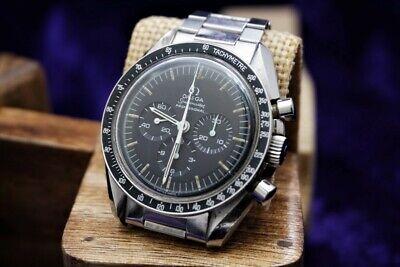 ️MINT SPEEDMASTER FIRST MAN ON THE MOON WATCH 1969 Cal:861 Ref:145.022-69