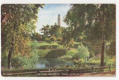 In The Phoenix Park Dublin Ireland Vintage Postcard 812b