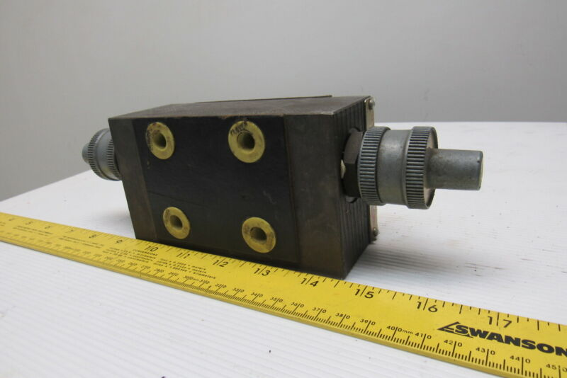 Double A NNYYC-01-10A1 Hydraulic Pressure Flow Control Stack Valve