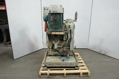 Morrell 15hp Hydraulic Power Unit 4000psi 22gpm Max 45 Gal Aa10vs028dr31r Pump