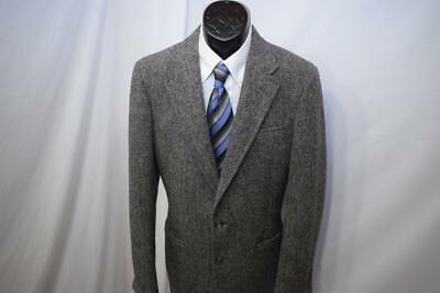 1325 Mens Harris Tweed 100% Scottish Wool VTG 80's Blazer Sports Jacket 40 R