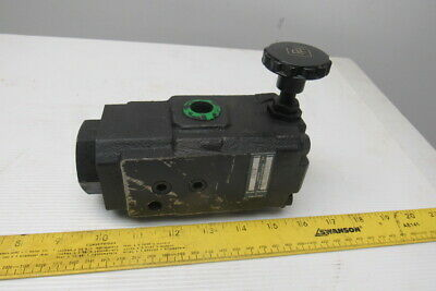 Parker Mbdc06p1aa Hydraulic Flow Control Valve