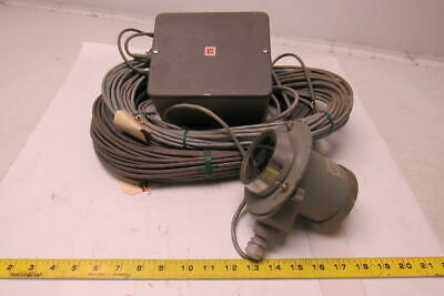 Leeds & Northrup 8845-C/30 Rayotube Infrared Temp.  Detector W/ Thermostat -