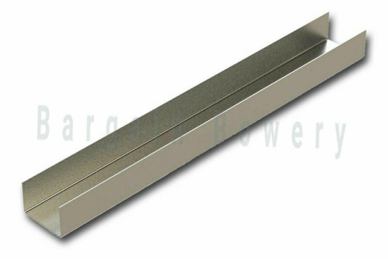 "Stainless Steel C Channel 18 Gauge 0.05""/1.27mm, 30""(L) X 2"" X 3"" X 2"""