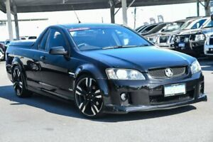 2010 Holden Ute VE II SV6 Black 6 Speed Manual Utility