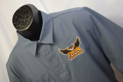 26180 Mens Adidas Kennesaw State Owls Vented Short Sleeve Dress Shirt Sz (Kennesaw State Apparel)