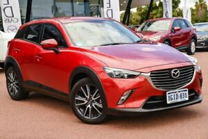 2017 Mazda CX-3 DK2W7A sTouring SKYACTIV-Drive Red 6 Speed Sports Automatic Wagon Wangara Wanneroo Area Preview