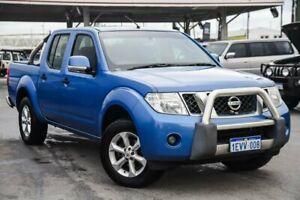 2013 Nissan Navara D40 S6 MY12 ST Blue 5 Speed Sports Automatic Utility