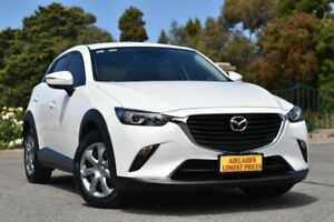 2017 Mazda CX-3 DK2W7A Neo SKYACTIV-Drive White 6 Speed Sports Automatic Wagon Enfield Port Adelaide Area Preview