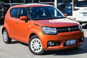 2018 Suzuki Ignis MF GL Orange 1 Speed Constant Variable Hatchback