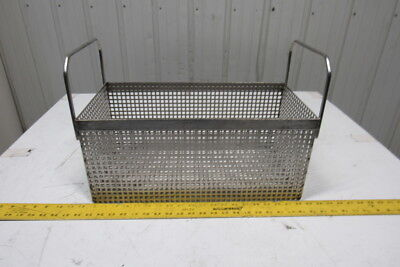 Heavy Duty Stainless Steel Parts Washer Dip Basket 19-14wx9-14lx8-12t