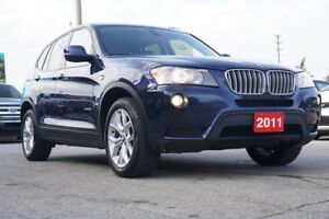 2011 BMW X3 28i,Low KMs,Navi,Bluetooth