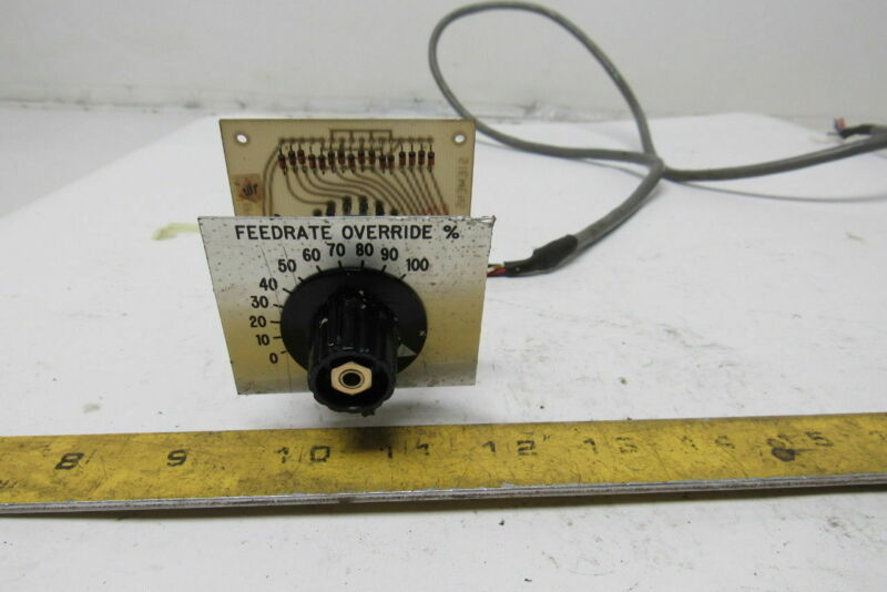 Siemens 6FC9 130-0AC00 15 Position Selector Switch Feed Rate Adjustment