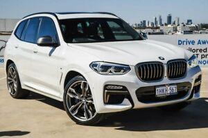 2019 BMW X3 G01 M40i Steptronic White 8 Speed Automatic Wagon
