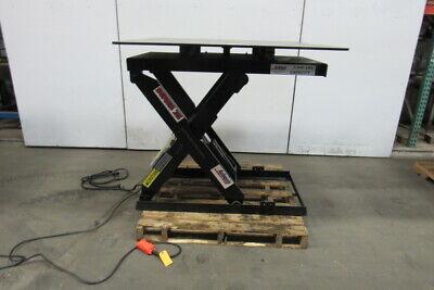 Autoquip Series 35 2500 Lb. 115v 1ph Scissor Lift Table 48x48 Turn Top