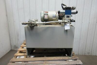 Rexroth 5hp 30 Gal Hydraulic Power Station Pump A10vs018dr31r-pkc62n00 230460v