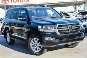 2020 Toyota Landcruiser VDJ200R Sahara Horizon Eclipse Black 6 Speed Sports Automatic Wagon
