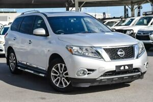 2014 Nissan Pathfinder R52 MY15 ST-L X-tronic 4WD Silver 1 Speed Constant Variable Wagon