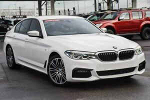2019 BMW 5 Series G30 530d Steptronic M Sport White 8 Speed Sports Automatic Sedan