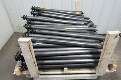 1.9 Diam. Chain Driven Conveyor Roller 35 Between Frame Lot Of 98