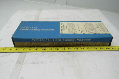 Stellite Haynes H-52 14x14 Hard Facing Welding Rod Electrode 10lb Box