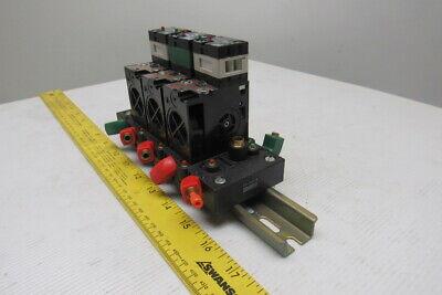 Crouzet 81504025 81550001 Pneumatic Logic Valve Assembly