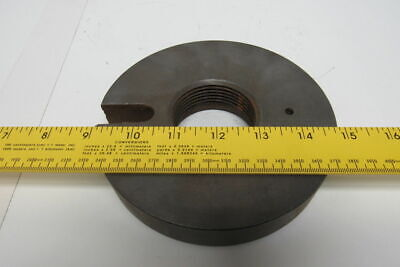 6 Lathe Face Plate 2-8 Threaded Mounting