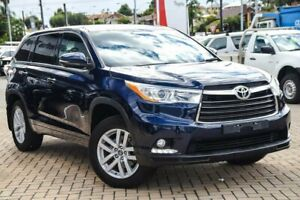 2016 Toyota Kluger GSU50R GX 2WD Blue 6 Speed Sports Automatic Wagon Morley Bayswater Area Preview