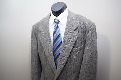 1506 Mens Harris Tweed 100% Scottish Wool VTG Blazer Sports Jacket 46 R
