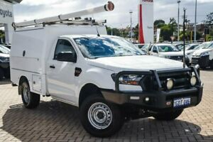2016 Ford Ranger PX MkII XL White 6 Speed Sports Automatic Cab Chassis Morley Bayswater Area Preview