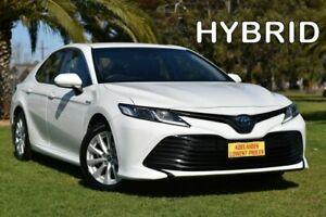 2018 Toyota Camry AXVH71R Ascent White 6 Speed Constant Variable Sedan Hybrid Cheltenham Charles Sturt Area Preview