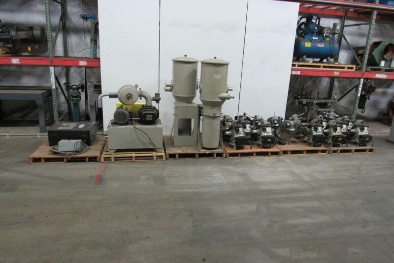 Conair Model BANN Vacuum/Blower Conveyor System Dust Collector Receiver Controls