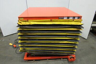 Presto Lee 4xw36-20 2000lb Hydraulic Scissor Lift Table 48x48 8-43h 115v