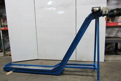 Storch Magnetic Incline Chip Conveyor 11 Belt 72 Discharge 230460v 3ph 60fpm