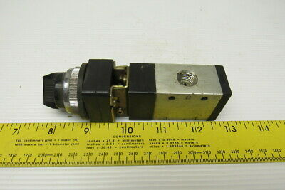 Aro Pneumatic 3 Port 2 Position Selector Switch 14 Npt