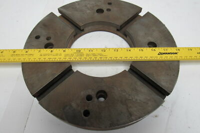 12-58 Round T-slot Lathe Face Plate Base 5-34 Id Hole