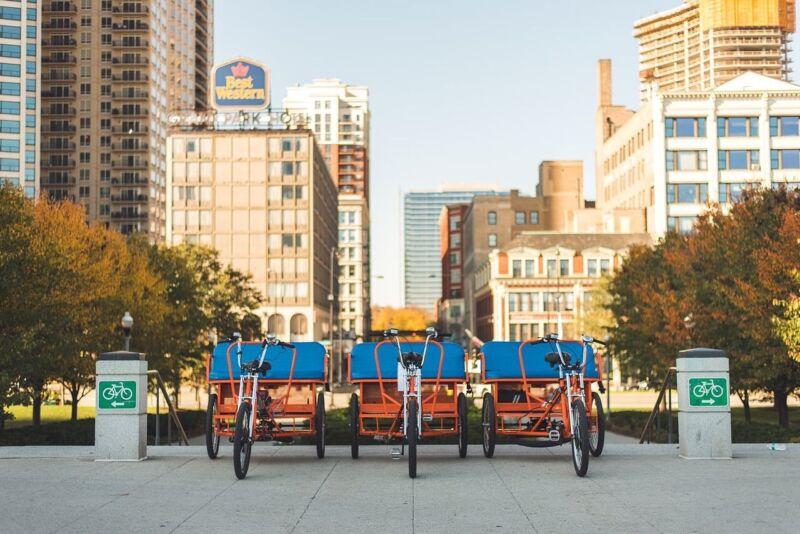 3 Seater Pedicab