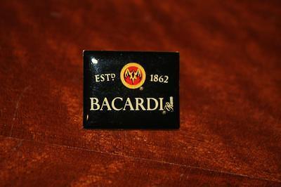 Bacardi Rum Cuba Pin Pins Anstecker EST 1862 NEU Rigo Fledermaus Drink Schnaps