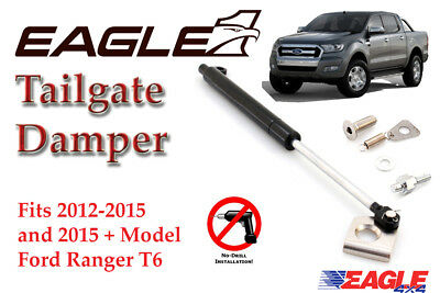 Ford Ranger T6 Wildtrak 2016+ Tailgate Damper Kit Easy Down Tailgate Gas Strut