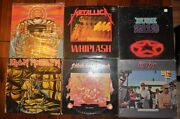 Metallica LP Lot