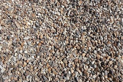 25 kg bunter Rheinkies 2-8 mm  Zen Garten Buntkies Zierkies Teichkies Waschkies