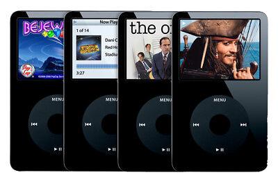 New Apple iPod Classic Video 5th 5.5th Gen 30gb/60gb/80gb Black/White MP4 Player