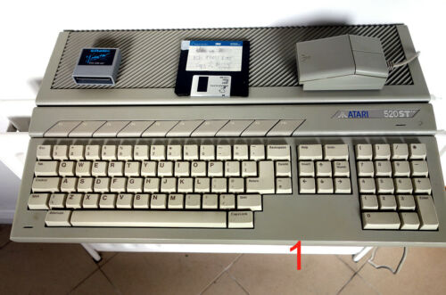 Atari STFM & Emagic Notator SL Complete package, rare find! FREE COURIER POSTAGE