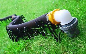 Camco 43051 20' Foot Sidewinder Plastic Sewer Hose Support. RV Trailer Camper