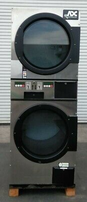 Adc American Dryer Corp Stack Dryer Coin Op 30lb Serial 495191 Et Refurb.