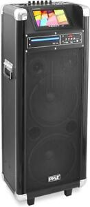 NEW - PYLE KARAOKE VIBE PA ENTERTAINMENT PARTY MACHINE - LOADED WITH FEATURES TO KEEP PARTIES ALIVE !!
