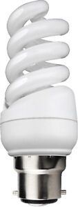 Kosnic Mini Spiral Quick Start Energy Saving CFL Compact Fluorescent Bulbs