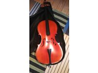 3/4 Size Stringers Cello and 2 bows