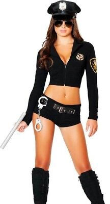 Sexy Female Police Officer Hottie Costume Womens Sheriff Cop - M/L Medium/Large](Cop Costume Female)